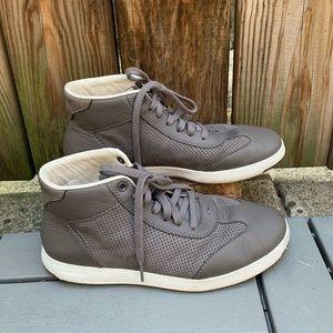 Cole Haan GrandPro High Top Sneakers 8.5 Grey